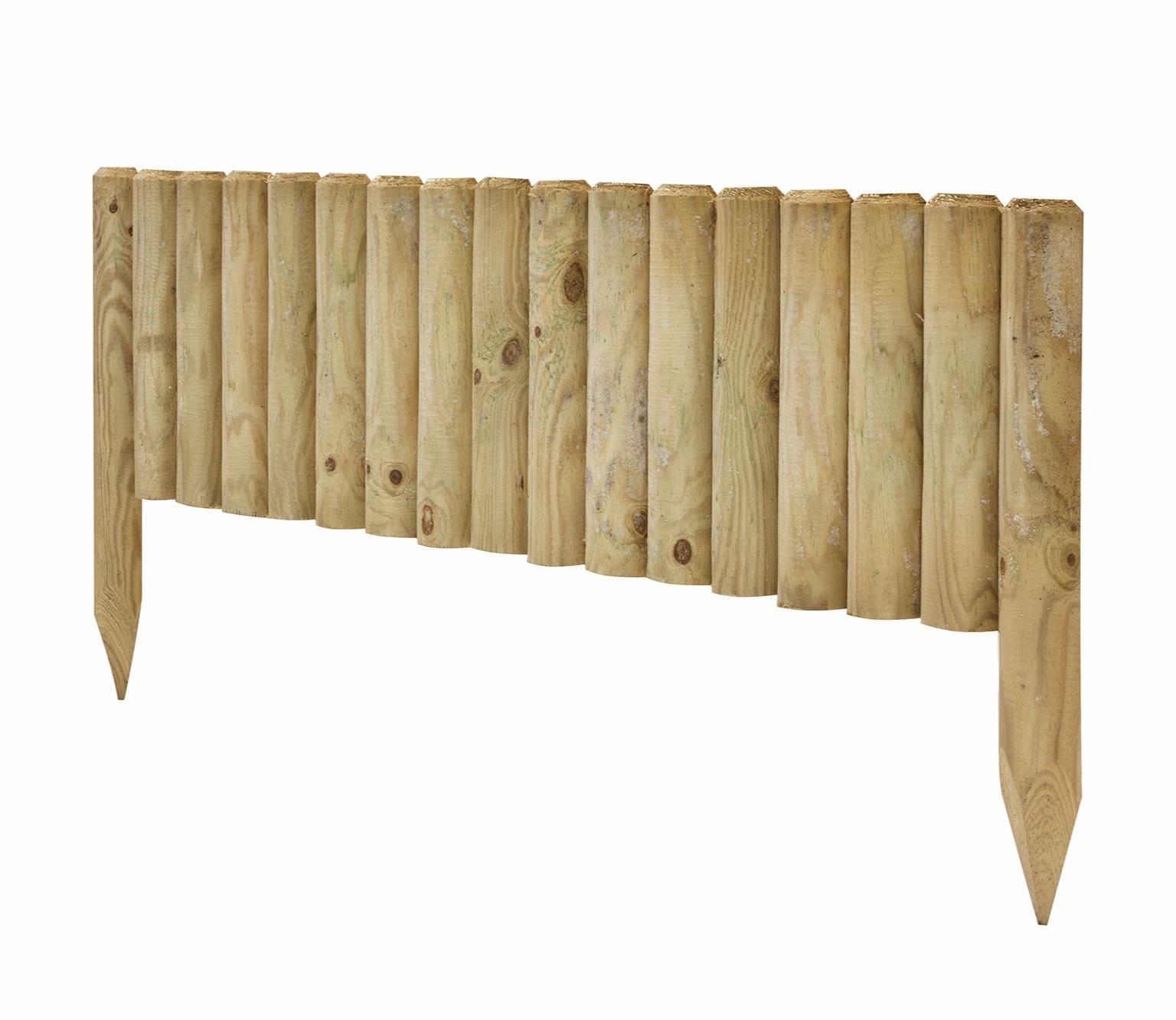 Log Edge Panels