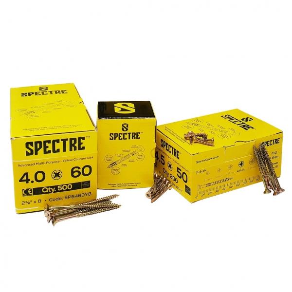 Specter Screws Boxed
