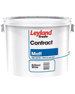 Leyland Contract Matt Emulsion 10ltr