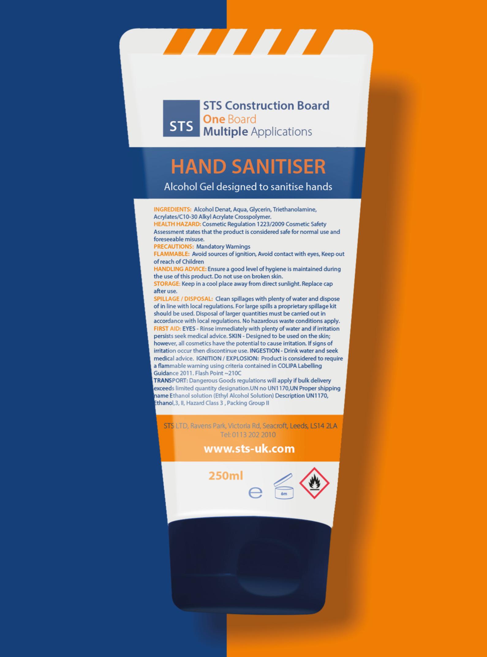 Hand Sanitiser 70% Alcohol