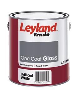 Leyland Trade One Coat White