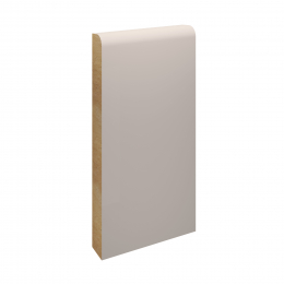 MDF Pencil Round Skirting Board Primed