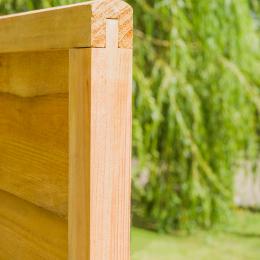 Lap Fence Panel Brown