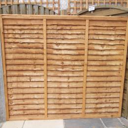 Overlap Fence Panel